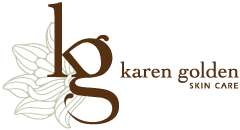 Karen Golden Skin Care Mobile Logo